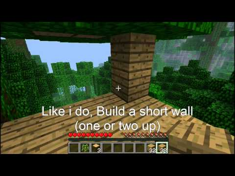 Minecraft - How to build a Double-fort base