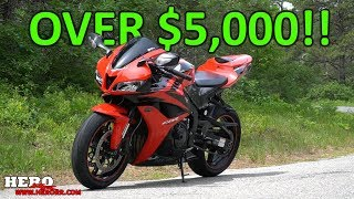 6. Highly Modified 08 CBR600RR (Over $5,000 Invested!)
