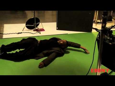 Nicki Minaj – Ebony Cover Shoot [Behind the scene]