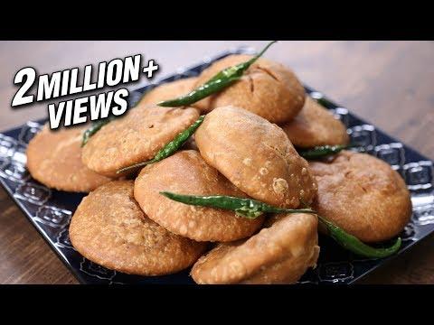 Video Khasta Kachori Recipe   Moong Dal Khasta Kachori    The Bombay Chef - Varun Inamdar download in MP3, 3GP, MP4, WEBM, AVI, FLV January 2017