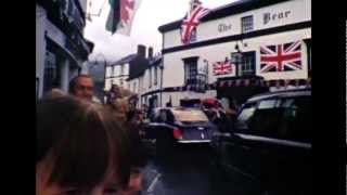 Crickhowell United Kingdom  City pictures : Queen Elizabeth II in Crickhowell, Powys