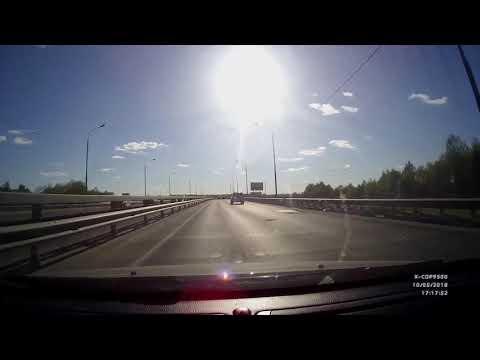 Авария в Рязани на улице Северной