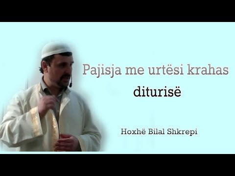 Pajisja me urtësi krahas diturisë - Hutbe nga Hoxhë Bilal Shkrepi
