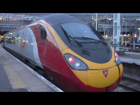 Virgin Trains Class 390 Pendolino Ride: Milton Keynes Central to London Euston - 21/07/17