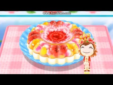 COOKING MAMA Let's Cook! Bavarois Con Flor - 花とババロア