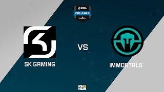 SK vs Immortals, game 1