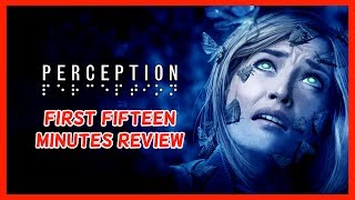 """Welcome to my First Fifteen Minutes video for Perception. This is a horror game so please be aware that this may not be suitable for younger viewers. Contains some mild scared language. Subscribe here for more Gaming Videos: http://goo.gl/JnMm2v.Don't forgot to click that notifications bell so you know when my next video is live  I Stream so come join The Barking Mad Society: https://mixer.com/krlbarkerhttps://twitch.tv/krlbarker Fancy spying on what I'm doing lately join my Twitter: https://twitter.com/KrlBarkerWant to stalk me on Xbox One well here's my GT: KrlBarkerJoin my Club on Xbox One and have a Chat: Search KrlBarkerIntro Creator: Dopemotionshttps://www.youtube.com/channel/UCgvrz9ioKv89HMyg42z4pyQEdited By: KrlBarkerFor more templates, visit www.velosofy.com! ABOUT PERCEPTION (STEAM/PS4/XBOX ONE)Crafted by a team of veteran PC and console developers (BioShock, BioShock Infinite, Dead Space), Perception (PC/PS4) offers a bold and fresh take on first person narrative games.""""See"""" using echolocation.  Every sound creates a visual.Engage in a deadly game of hide and seek with relentless enemies, including The Presence.Trigger radical change at the Estate at Echo Bluff each time you solve its mysteries.Travel back through history to exorcise your own nightmares.Perception is a first-person narrative horror adventure that tells the story of Cassie, a blind heroine who uses her extraordinary hearing and razor-sharp wits to unravel the mysteries of an abandoned estate that haunts her dreams."""