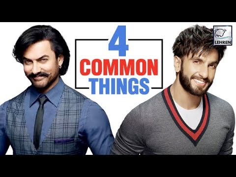 4 Things That Aamir Khan & Ranveer Singh Have In C