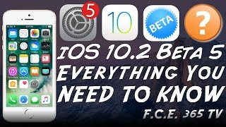 Today we're going to talk about the newly released iOS 10.2 Beta 5 that Apple released yesterday and what it changes! This is a very important update as it k...