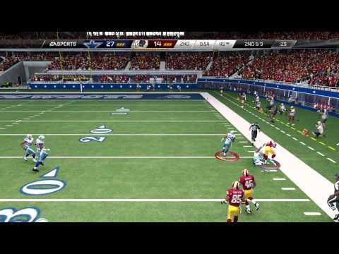 Madden 25::PLAYSTATION 4 Gameplay::Overcoming Fumbles?-Redskins Vs. Cowboys-Online Gameplay PS4