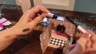 Unboxing Estee lauder Blockbuster holiday kit & Too Faced Christmas in Paris 2015 Le grand Château