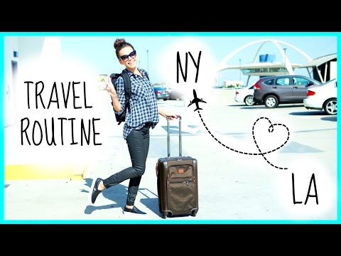 flight - Heading to the airport can be stressful, but creating a routine can help you stay organized in the midst of craziness. I've been traveling a TON, so here's what works for me! :) I'm vlogging!...