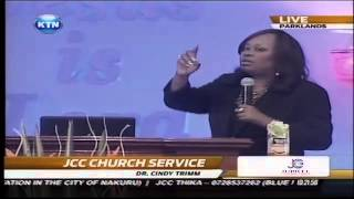 Praise & Worship: Cindy Trimm At JCC Church Service - Kidero And  Ruto's Family Present
