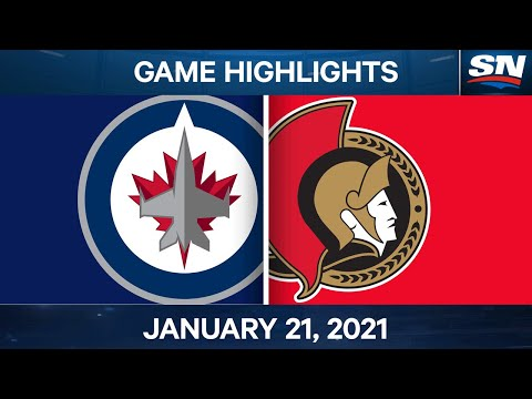 NHL Game Highlights | Jets vs. Senators - Jan. 21, 2021