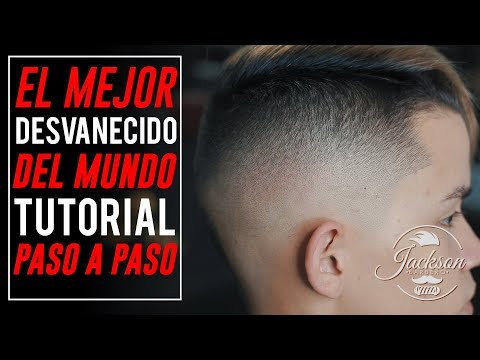TUTORIAL DE BARBERIA / Tecnica De Fade Descendente