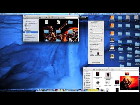Personalizar OS X Mountain Lion 10.8.2 PC Hackintosh (видео)