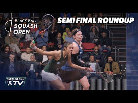 Squash: CIB Black Ball Women's Open 2020 - Semi Final Roundup