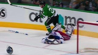 Gotta See It: Eakin sends Lundqvist's helmet flying with massive hit