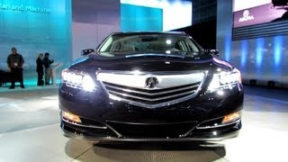 2014 Acura RLX P-AWS - Exterior Walkaround - Debut At 2012 Los Angeles Auto Show