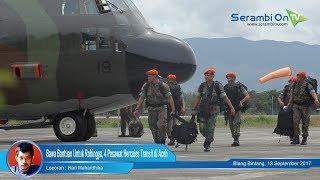 Bawa Bantuan Untuk Rohingya, 4 Pesawat Hercules Transit di Aceh