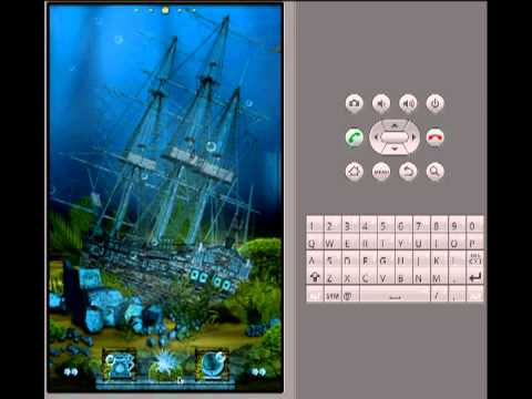 Video of ADW Theme  Ocean Depths
