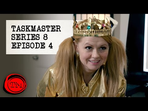 "Taskmaster - Series 8, Episode 4 | Full Episode | ""The Barrel Dad"""