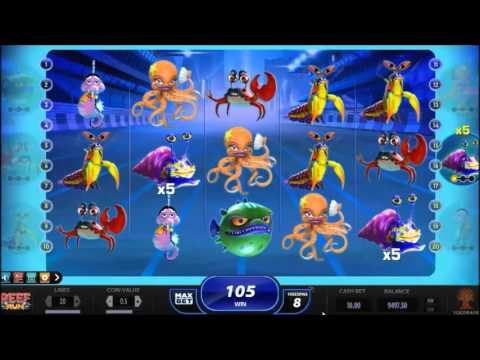 Reef Run (Yggdrasil) online slot - free spins feature