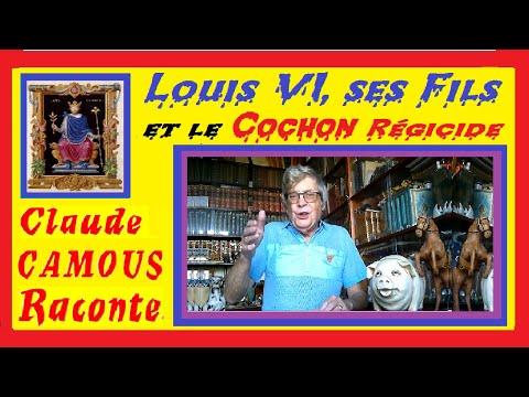 Louis VI, ses Fils et le Cochon régicide : « Claude Camous Raconte » : « Porcus  Diabolicus »
