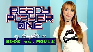 Video READY PLAYER ONE! My Thoughts on Book vs. Movie MP3, 3GP, MP4, WEBM, AVI, FLV Juni 2018