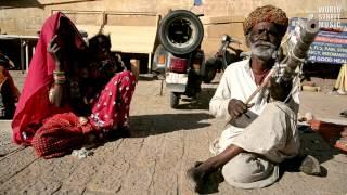 Jaisalmer India  city images : Amazing Indian Ravanhatta Musician in Jaisalmer Rajasthan