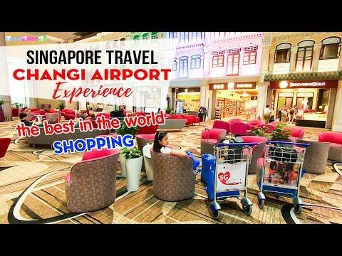 DU LỊCH SINGAPORE ▶ Trải nghiệm và Mua sắm tại sân bay xịn nhất thế giới Changi Airport - Thời lượng: 18 phút.