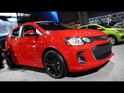 2017 Chevy Sonic - 2016 New York Auto Show