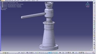 Catia V5 Tutorial|P7-Create Screw Jack|Tommy Bar|Mechanical Engineering Design