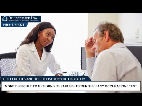 Definitions of Disability - Long-Term Disability Benefits