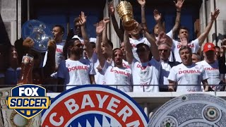 Bayern Munich's party continues after DFB-Pokal win by FOX Soccer