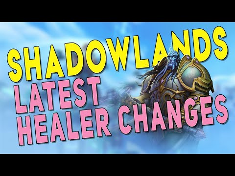 Shadowlands Latest HEALER Changes! Fistweaving Monk & Ranged Holy Paladin Buffs & More | WoW Beta