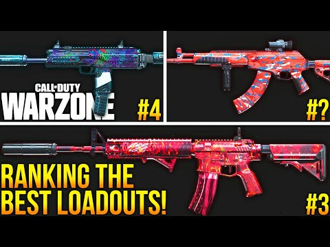 Call Of Duty WARZONE: RANKING The 5 BEST LOADOUTS To Use! (WARZONE Best Setups)