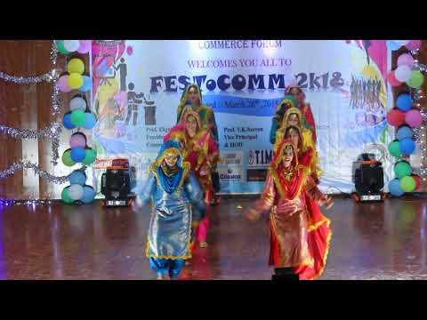 Video Commerce Festival Performance|| Punjabi Folk Dance || Girls Performance || Trending Bhangra 2018 download in MP3, 3GP, MP4, WEBM, AVI, FLV January 2017