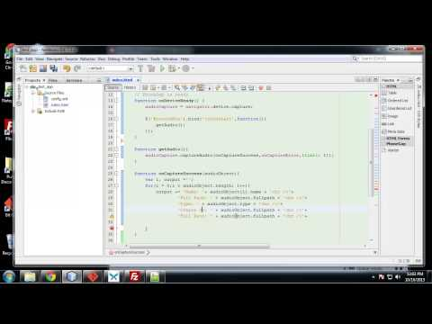 Learn to Build Mobile Apps from Scratch - Chapter 17 - Capture Audio