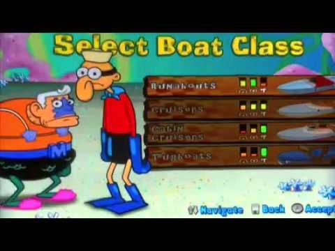 spongebob's boating bash wii download