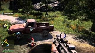 Farcry 4 Co Op Funny Moments - Mr. Chow, Demon Fish, Gator Attack, Tuk Tuk Race