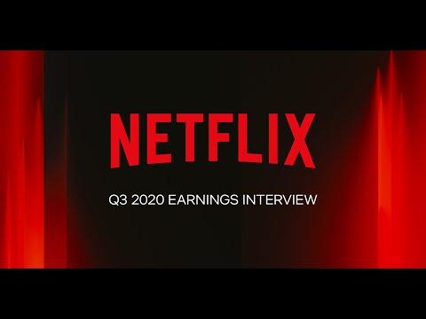 Netflix Q3 2020 Earnings Interview