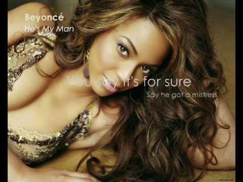 Tekst piosenki Beyonce Knowles - He's My Man po polsku