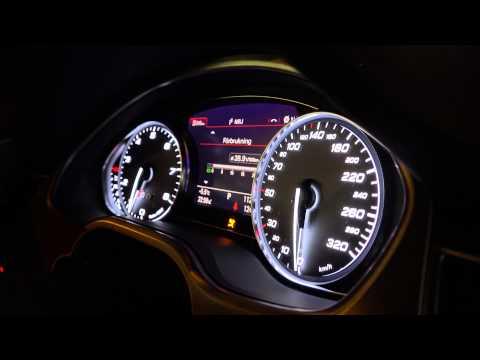 [4k] Audi S8 instruments on startup