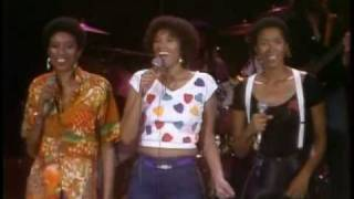 The Pointer Sisters set Bruce's song on fire