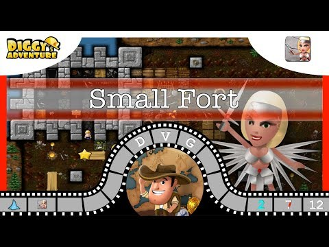 [~freya~] #12 Small Fort - Diggy's Adventure