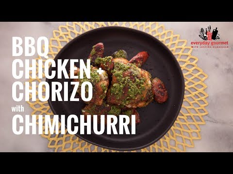 Tefal BBQ Chicken and Chorizo with Chimichurri | Everyday Gourmet S6 E11
