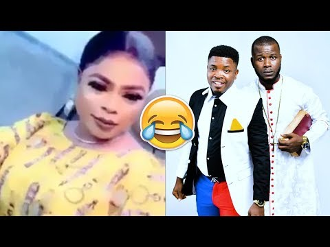 Sam and Song finish Bobrisky live on stage (Who is your bro)
