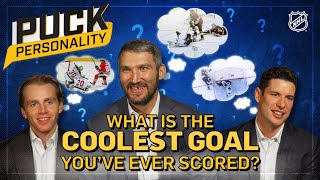 What is the coolest goal you've ever scored?   Puck Personality   NHL by NHL