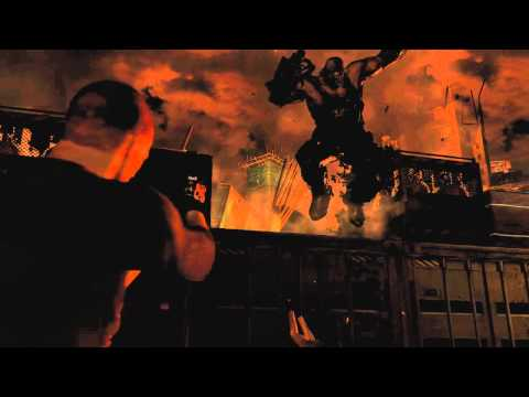 Resident Evil 6 - Jake SDCC panel footage